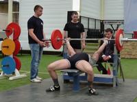 Во Дворце спорта тренируются сильнейшие спортсмены области