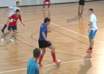 Пущинские футболисты готовятся к ответственной игре