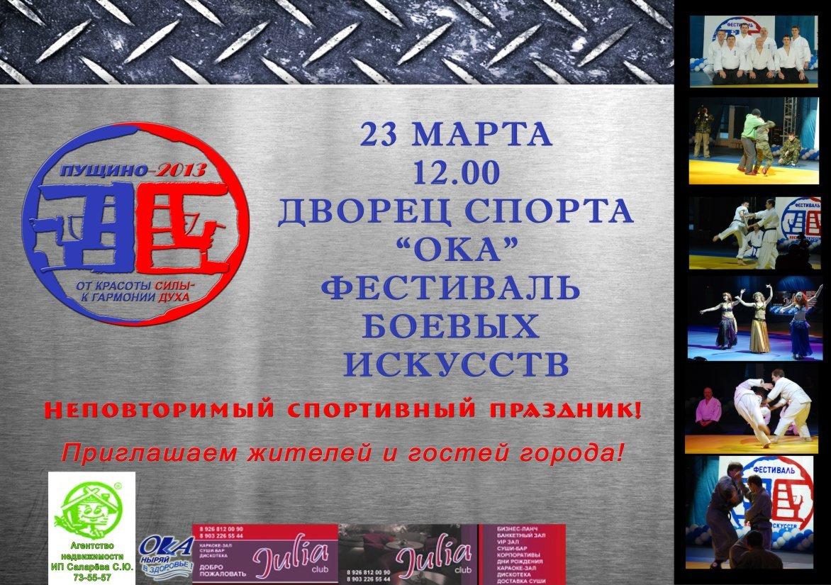 Фестиваль боевых искусств 2013