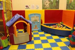 Ремонт в детской игровой комнате