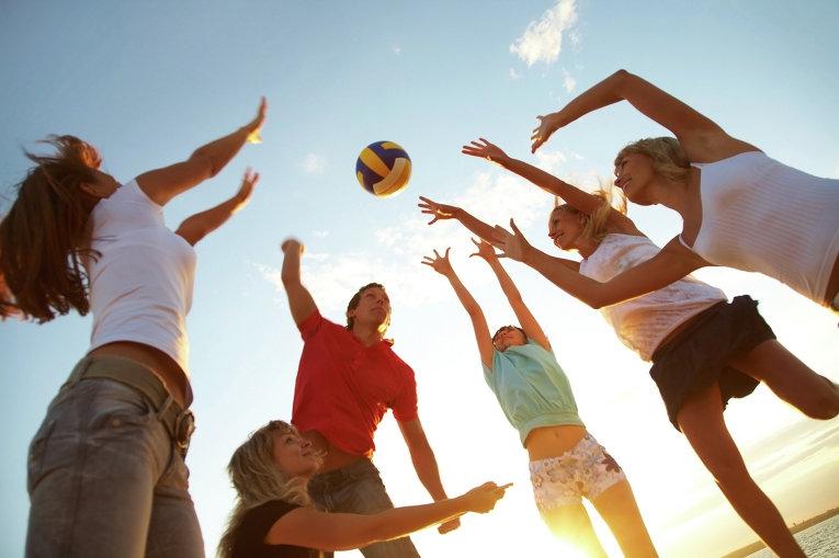 Городской спортивный праздник, посвященный Дню Молодежи.