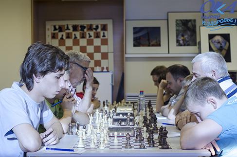 Первенство города Пущино по классическим шахматам.