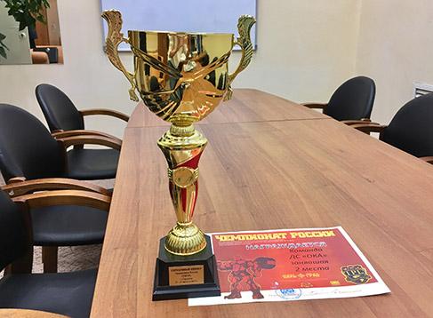 Победа нашей команды на Чемпионате России по пауэрлифтингу!