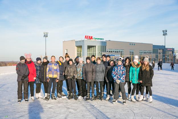 Зимний спортивный сезон продолжается!
