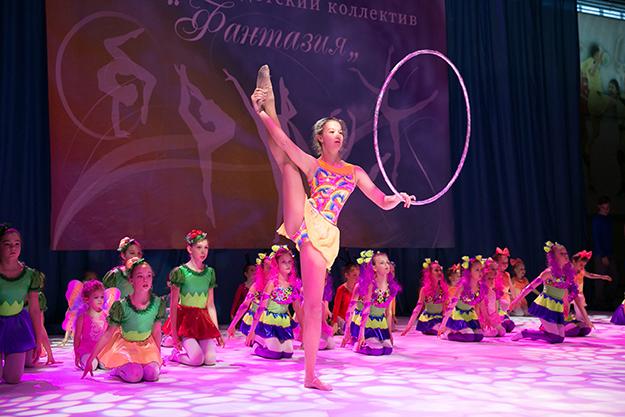 Отчетный концерт Образцового детского коллектива спортивной хореографии «Фантазия»