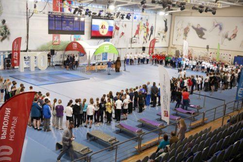 Городской фестиваль ГТО, организованный совместно с мобильным Центром ГТО Министерства физической культуры и спорта Московской области