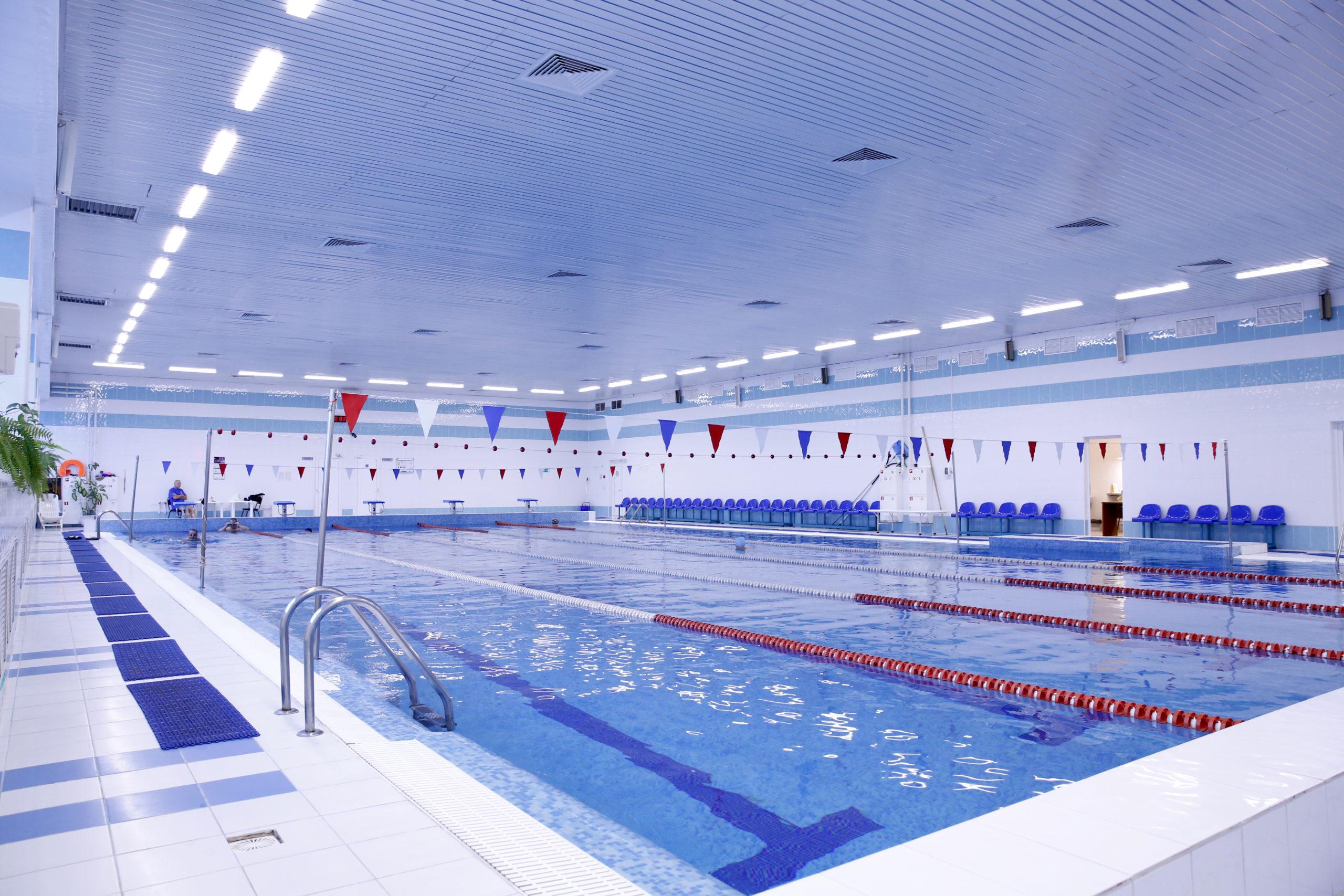 Возобновление работы бассейна!