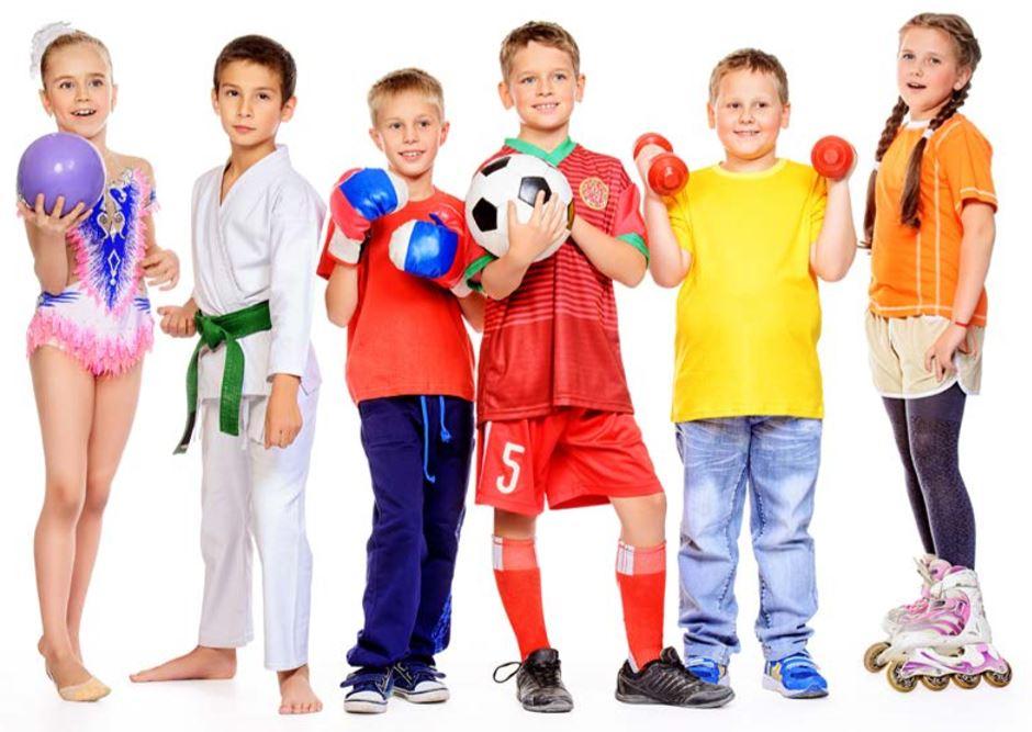 Набор детей от 3 лет в детские секции!