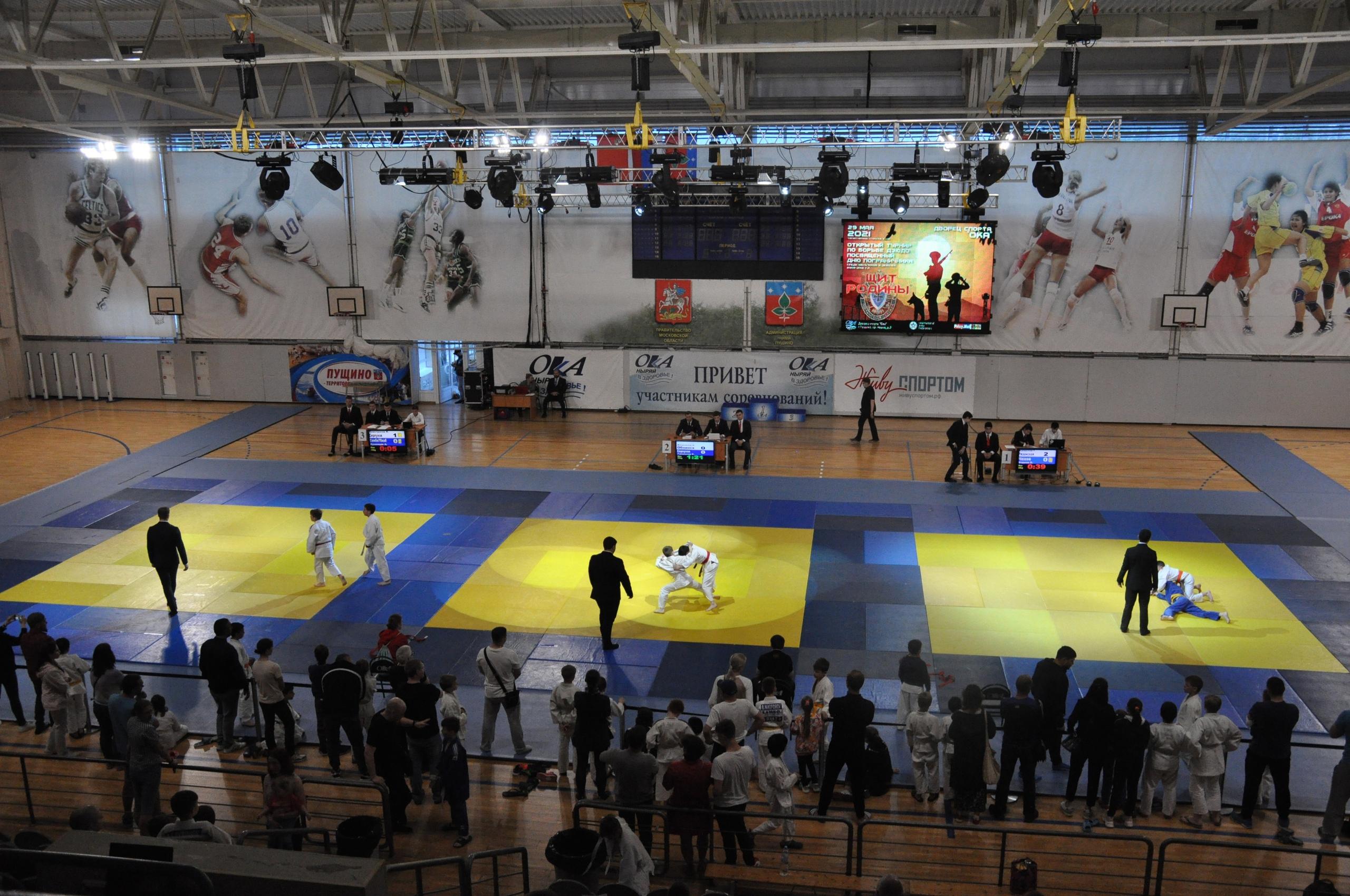 Спортсмены секции «Дзюдо/Самбо» Дворца спорта «Ока» завоевали несколько призовых мест на турнире «Щит Родины»
