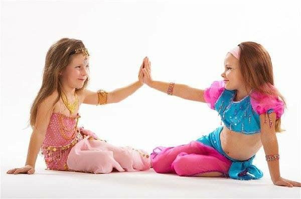 Ура! Завтра, 4 сентября, начинаются занятия новичков детской группы «Восточный танец»!